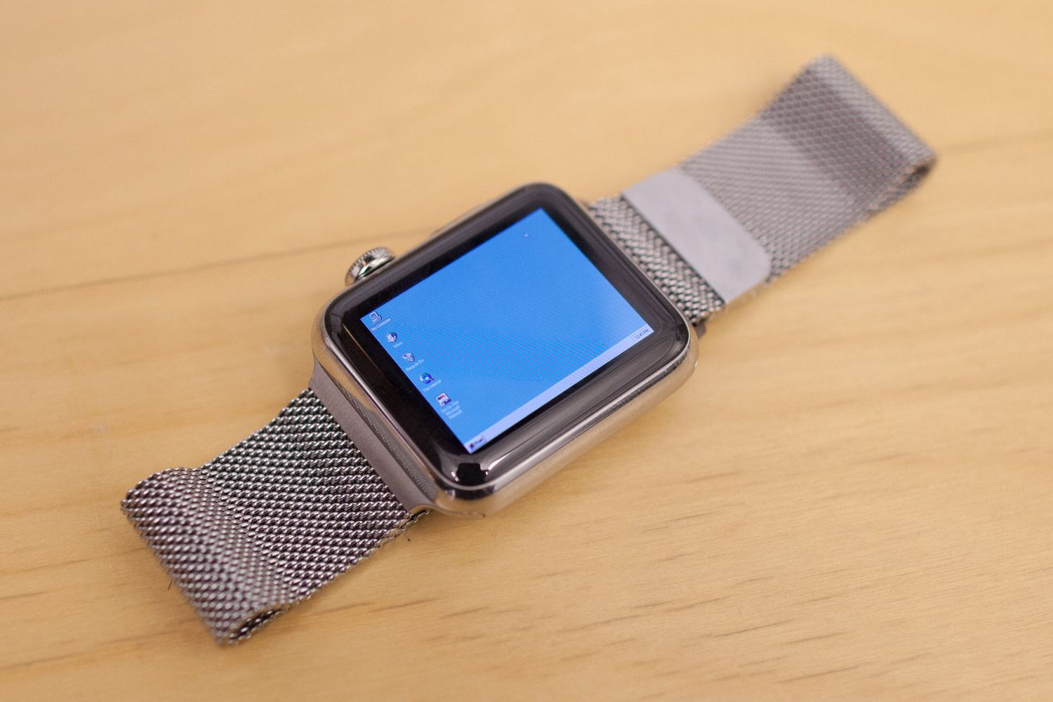 Windows 95 sur Apple Watch