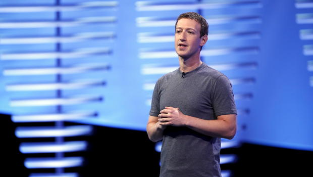 Mark Zuckerberg alla Facebook F8 Conference