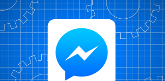 Logo di Facebook Messenger