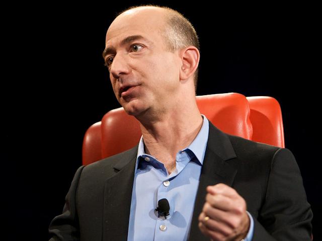 CEO di Amazon Jeff Bezos
