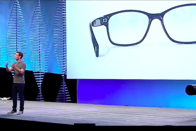 Zuckerberg parla degli occhiali per la realtà aumentata