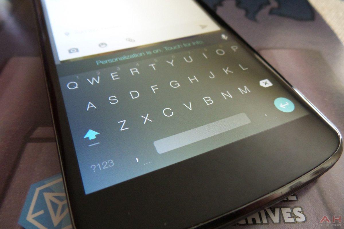 """Google Keyboard per Android ora supporta la modalità """"Utilizzo con una sola mano"""""""