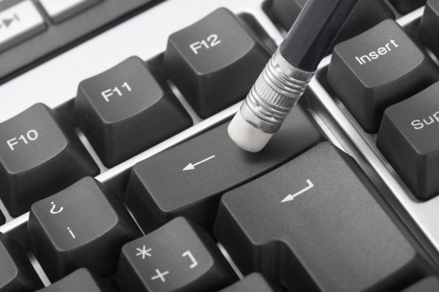 Backspace-toets toetsenbord