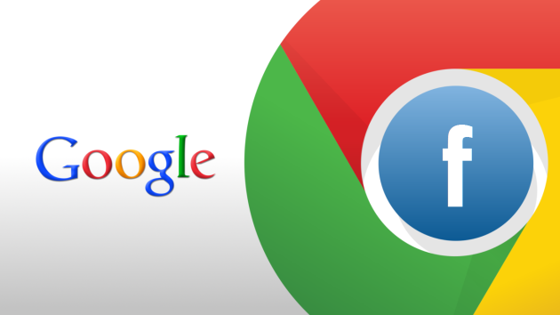 Chrome y Facebook