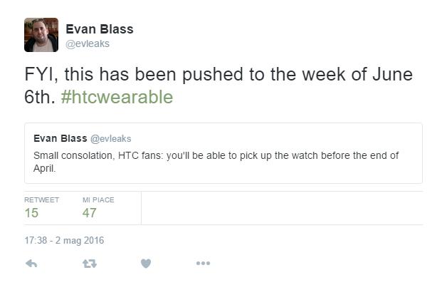 HTC SmartWatch Evan Blass
