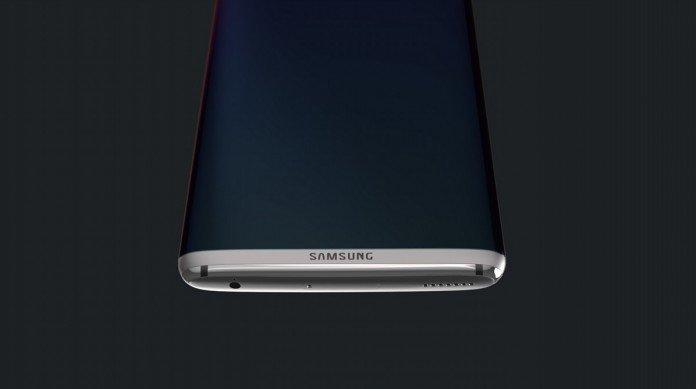 Samsung Galaxy S8 Edge concept