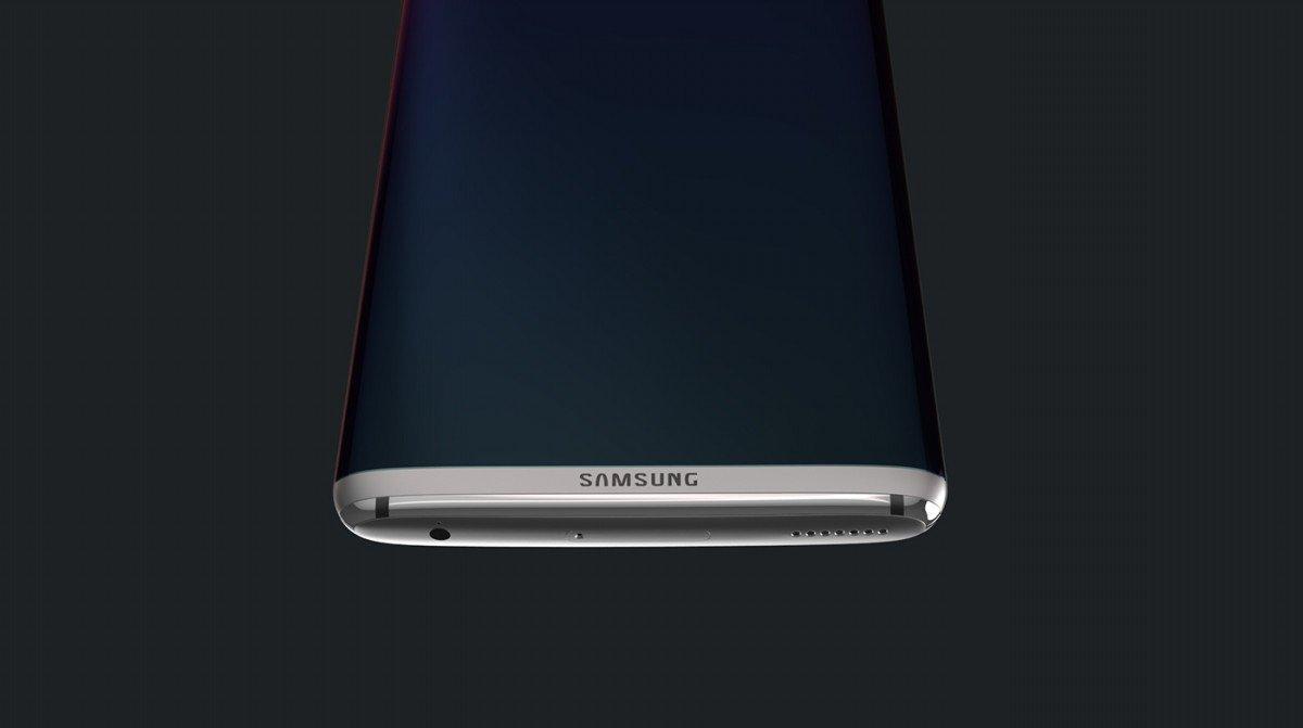 Concepto de Samsung Galaxy S8 Edge
