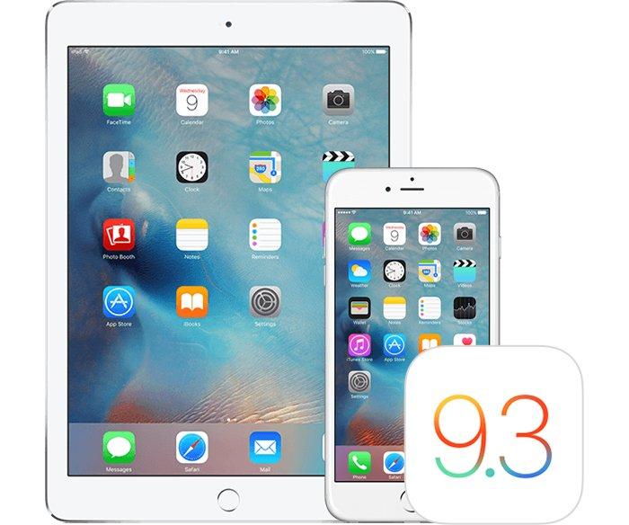 iOS 9.3.2 Apple