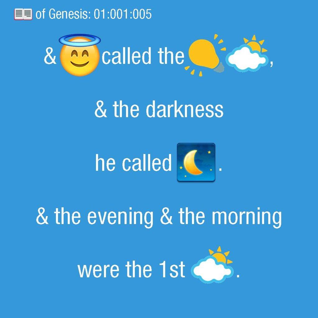 Biblia emoji