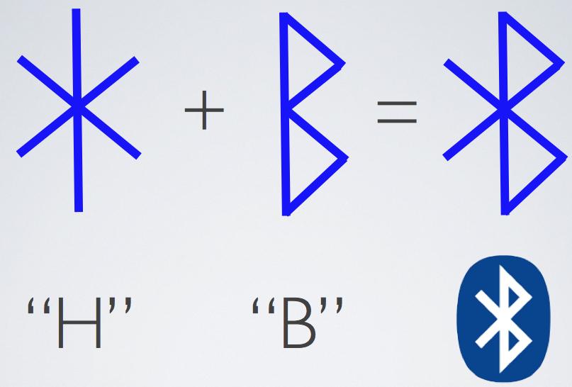 斯堪的纳维亚符文导致蓝牙标志的创建