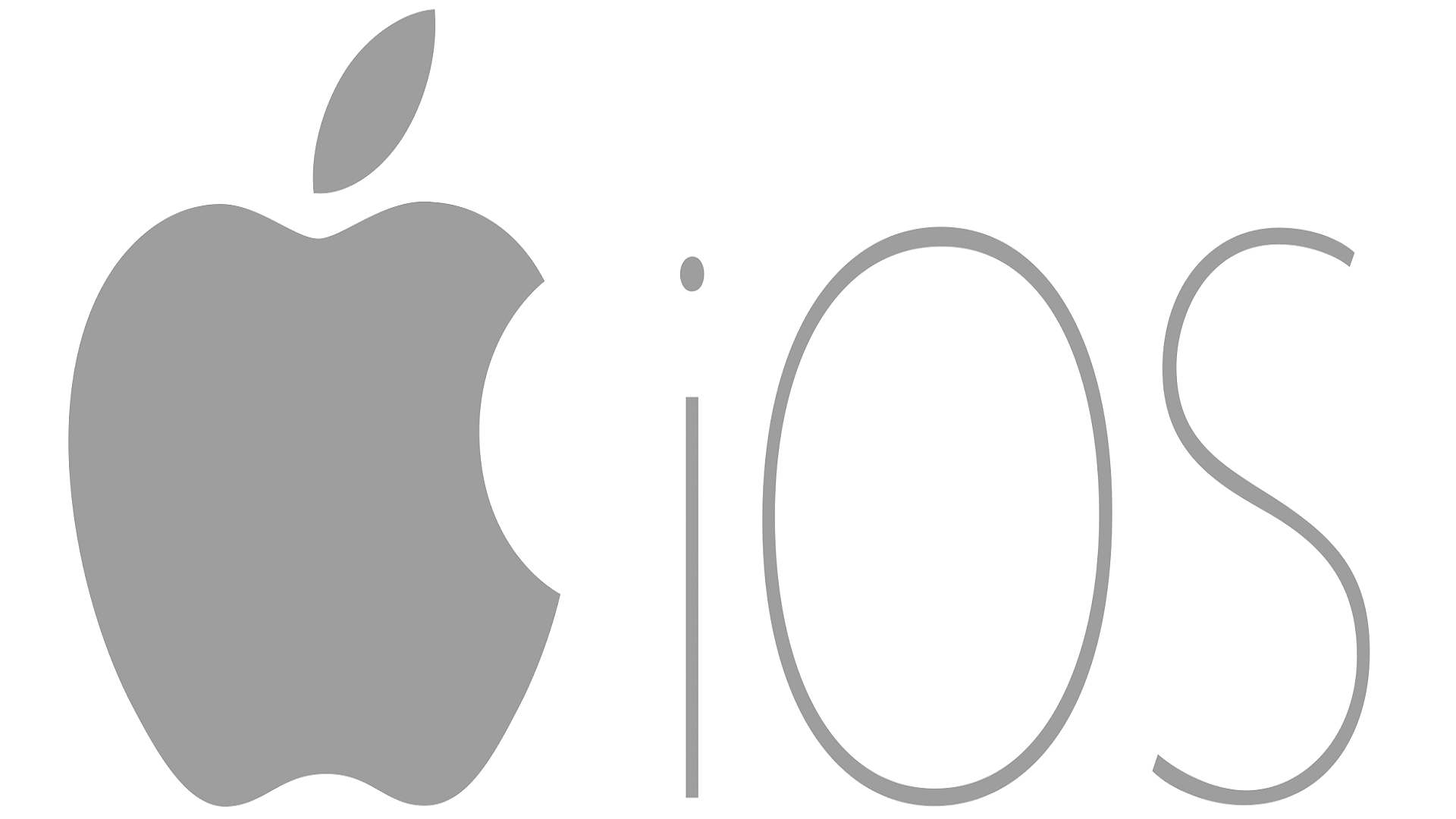 iOS logo Apple