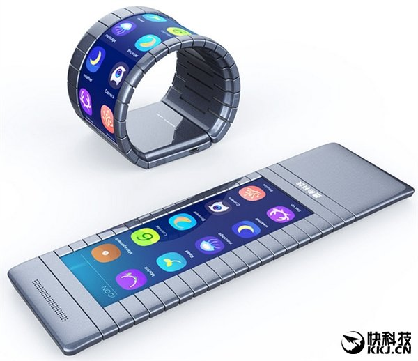 vouwende smartphone