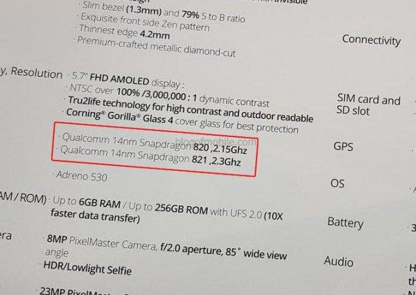 Asus zenfone 3 deluxe snapdragon 821
