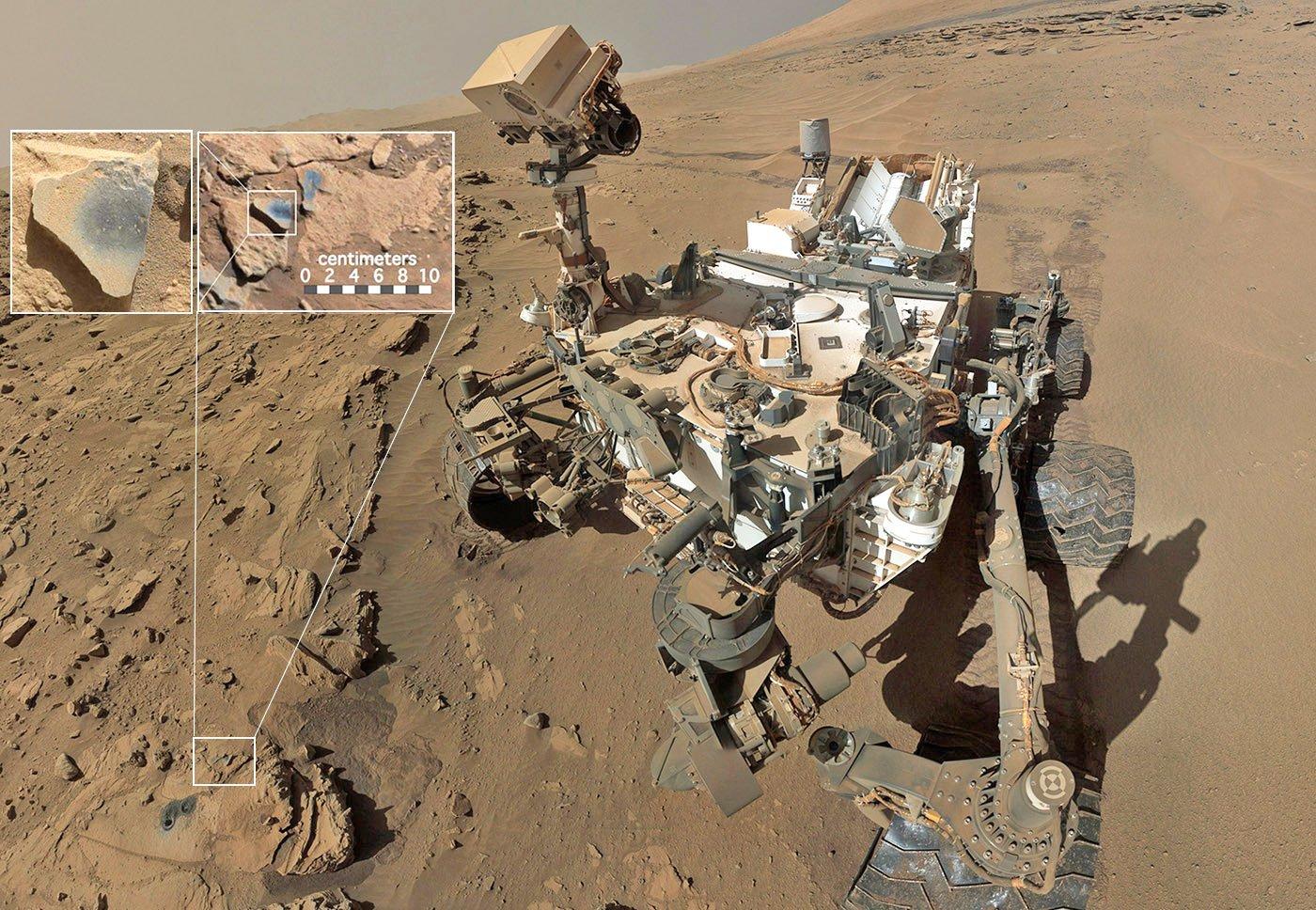 Любопытство Марс
