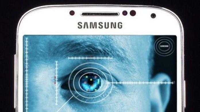 Samsung galaxy note 7 Scanner iride
