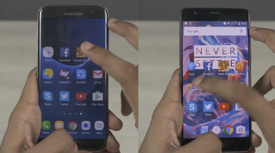 OnePlus 3与三星Galaxy S7