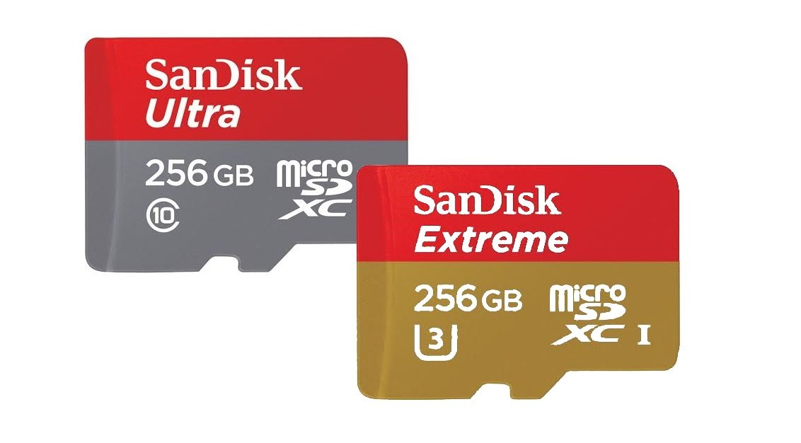 Sandisk micro sd 256 gb