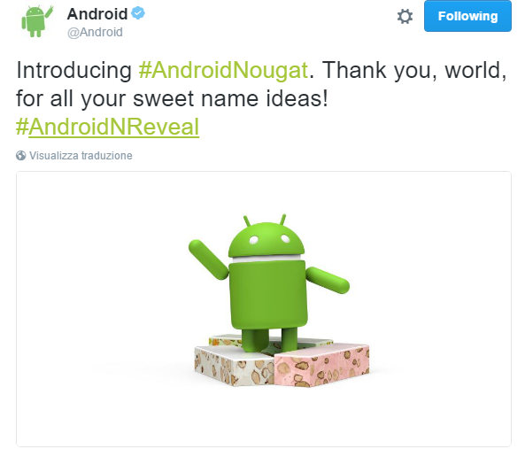 Android Turrón
