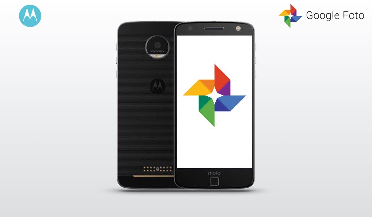 Moto Z Droid Google Foto