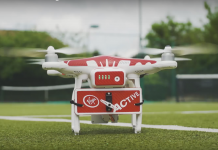 drone-ovic tennis