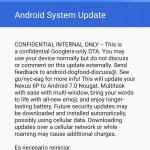 Huawei nexus 6p turrón Android 7