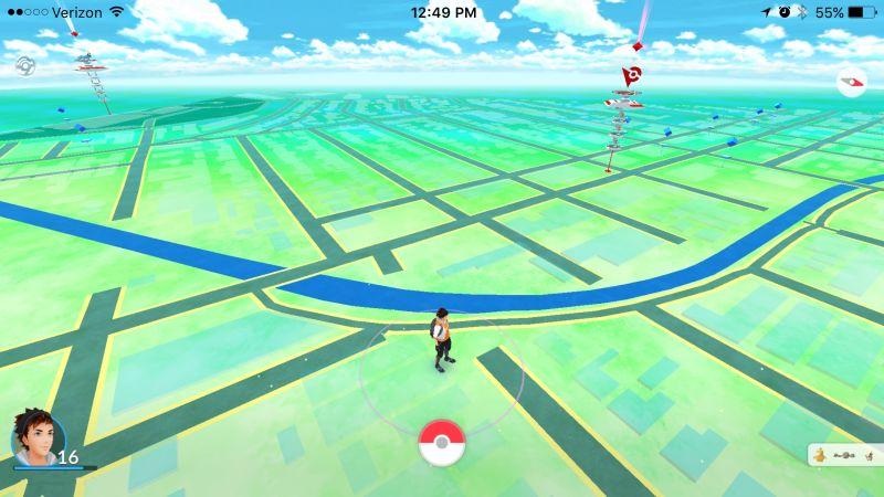 Modo paisaje Pokémon Go