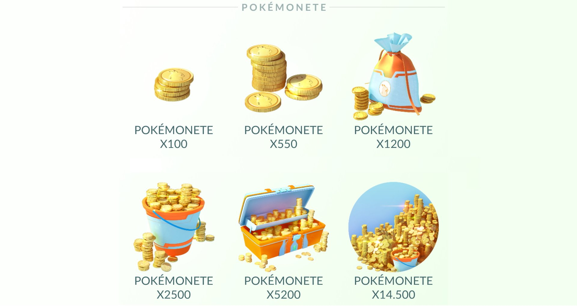 Pokemon go monete