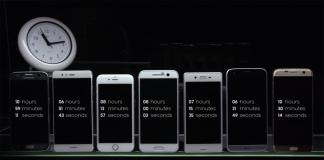 samsung galaxy s7 batteria confronto