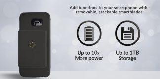 Samsung galaxy s7 modulare i-blades