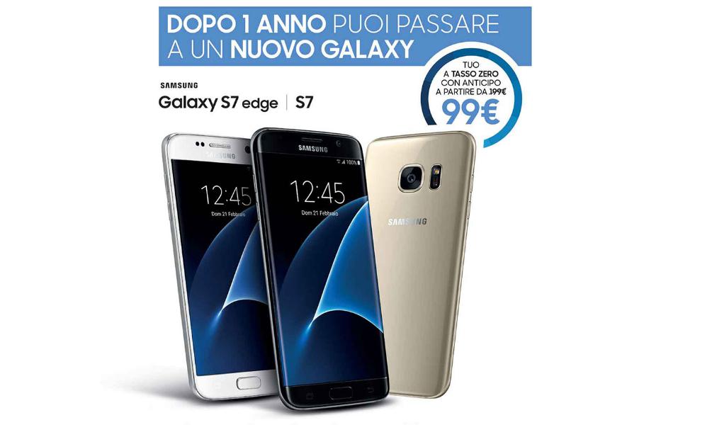 Samsung galaxy s7 s8 finanziamento