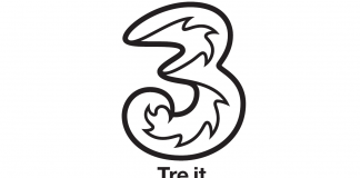 Tre h3g logo all in teen