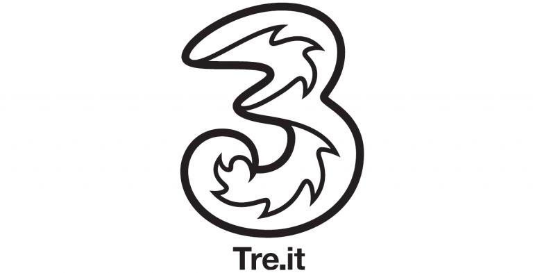 Tre h3g logo all in teen