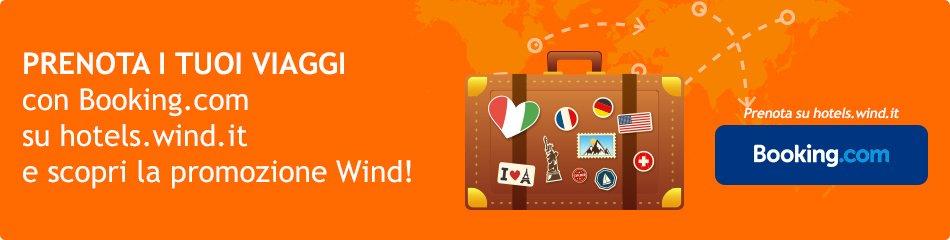 Wind prenota, viaggia e ricarica