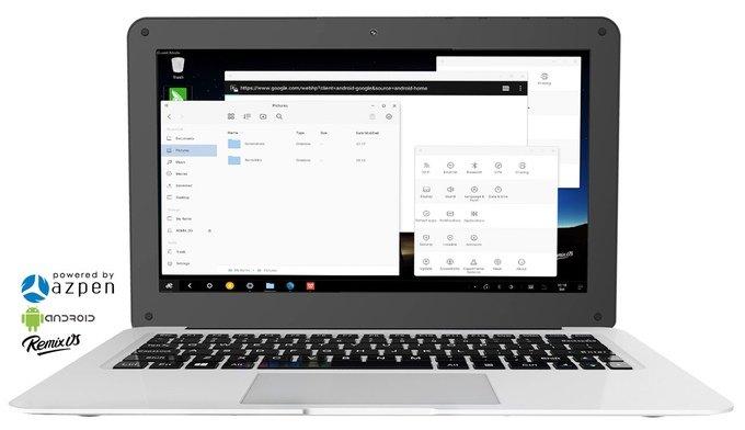 Hybrx, la PC portátil € 62
