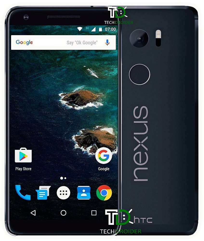 htc nexus marlin render