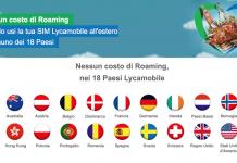 Lycamobile rimuove raoming in 18 paesi