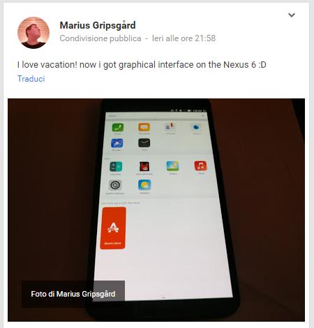 nexus 6 ubuntu
