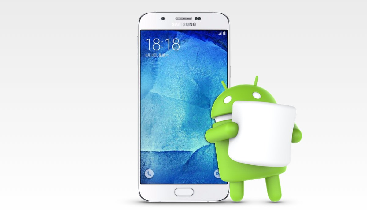 Samsung Galaxy A8 Marshmallow
