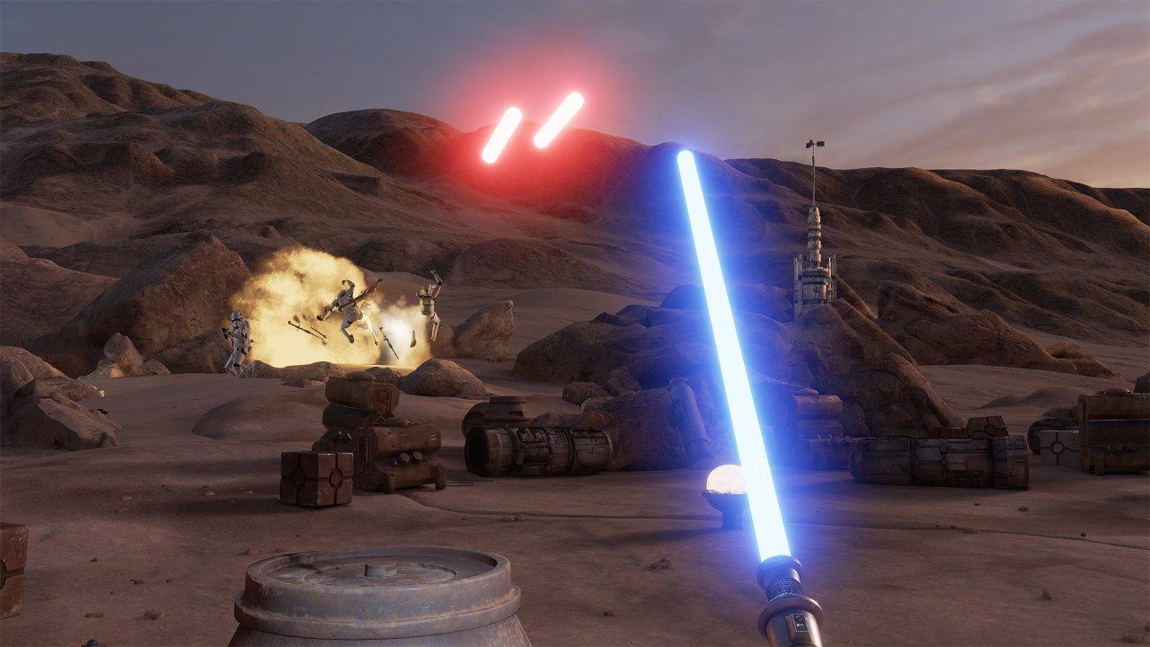 Pruebas de Tatooine, la primera experiencia oficial de VR de Star Wars