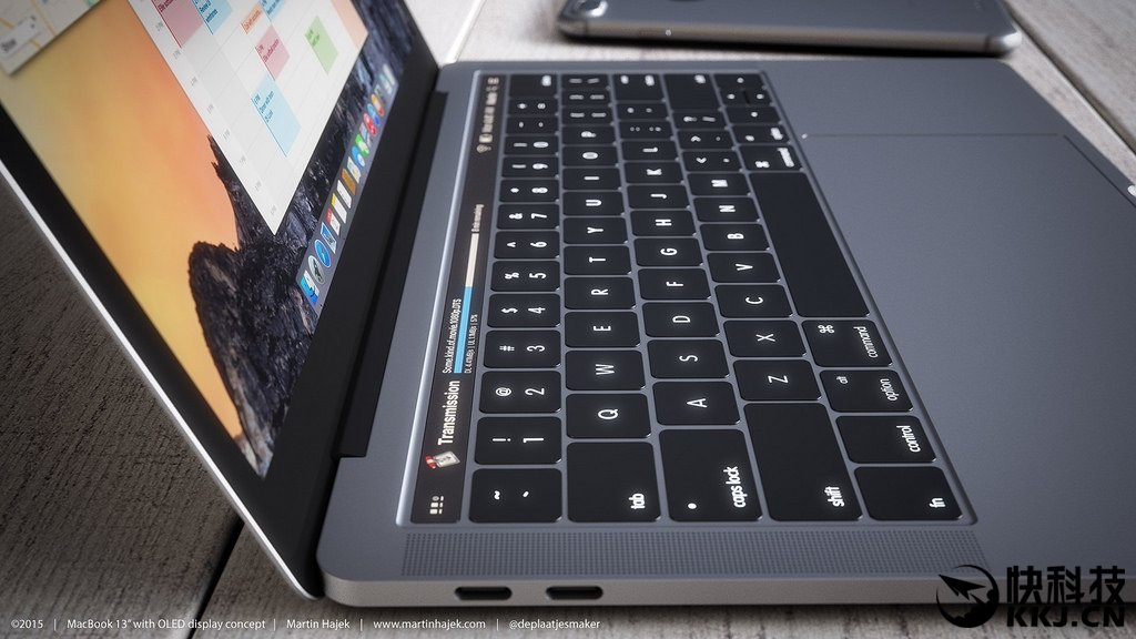 Apple MacBook Pro Touch Strip OLED