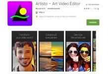 Artisto prisma app effetti video