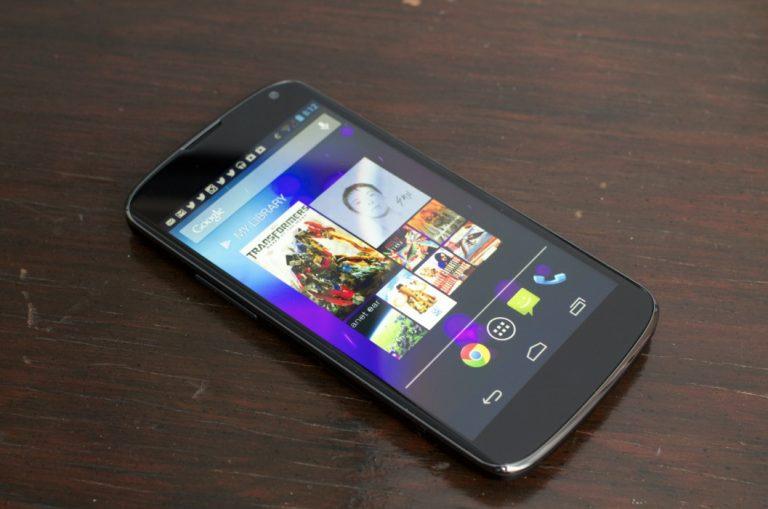 Google Nexus 4 Android 7.0 Nougat