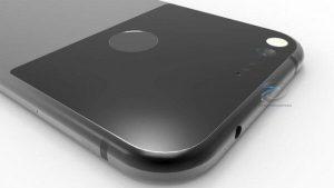 HTC Nexus Sailfish render