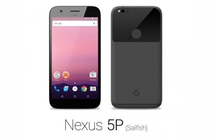 HTC nexus sailfish 5p
