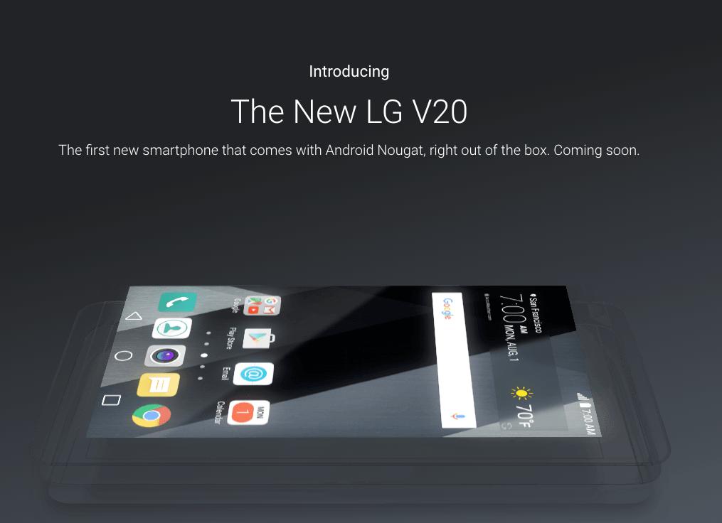 LG V20 Bang & Olufsen
