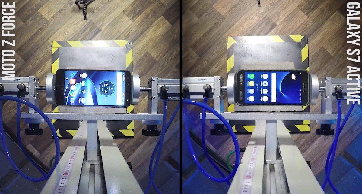 Motorola Moto Z Force vs Samsung Galaxy S7 Active
