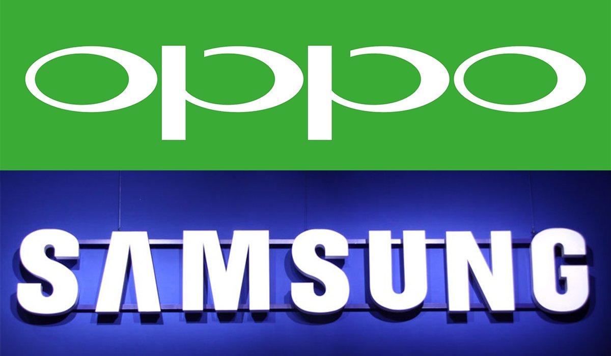 OPPO e Samsung