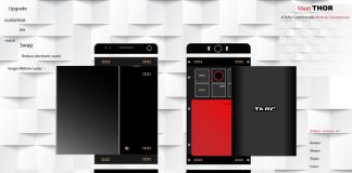 Thor smartphone modulare concept hege