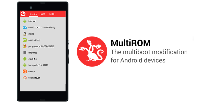 MultiRom Android