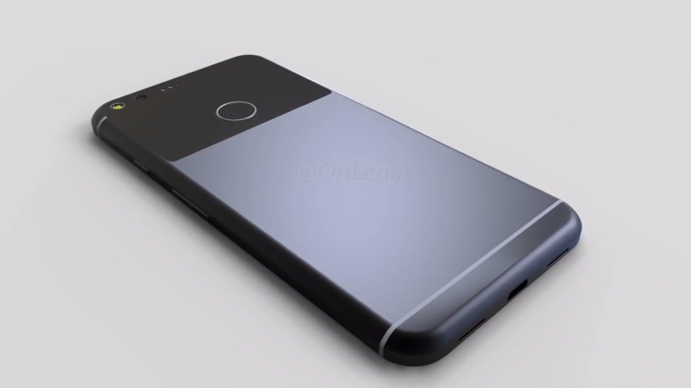google pixel xl render video onleaks